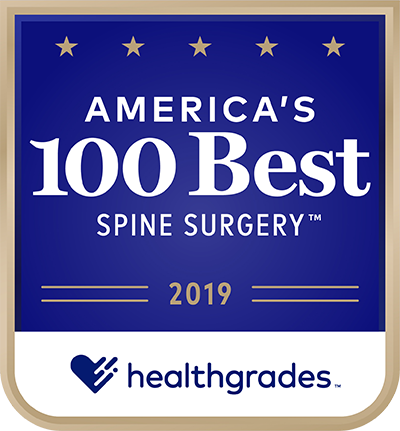 Healthgrades Spine Surgery Award 2019